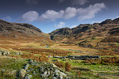 Hardknott Pass and Roman Camp, Cumbria