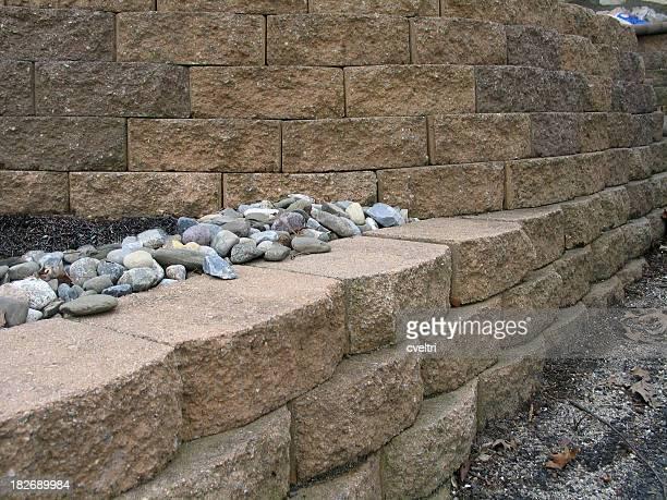 Plusieurs niveaux Mur de retenue des eaux Hardscaping