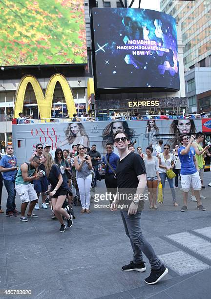 Hardwell Announces North American Dates for 'I Am Hardwell' World Tour at Times Square on June 17 2014 in New York City