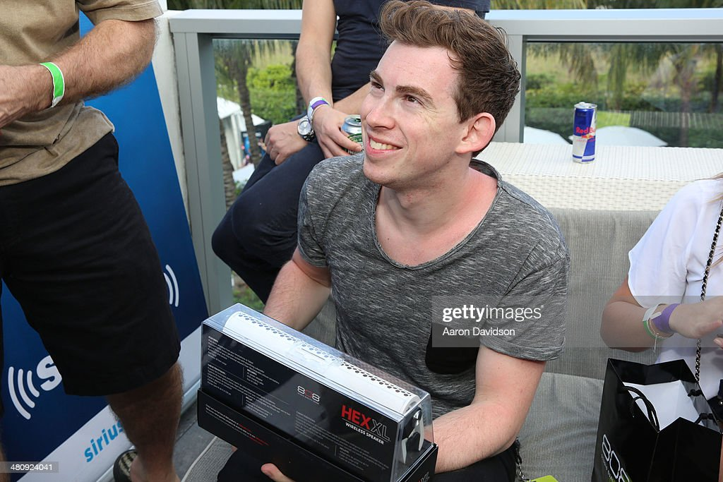 Hardwell attends SiriusXM's 'UMF Radio' at the SiriusXM Music Lounge at W South Beach on March 27 2014 in Miami Beach Florida