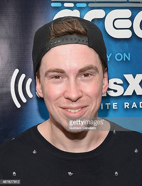 Hardwell attends SiriusXM's 'UMF Radio' Broadcast Live From The SiriusXM Music Lounge at W Hotel on March 27 2015 in Miami Florida