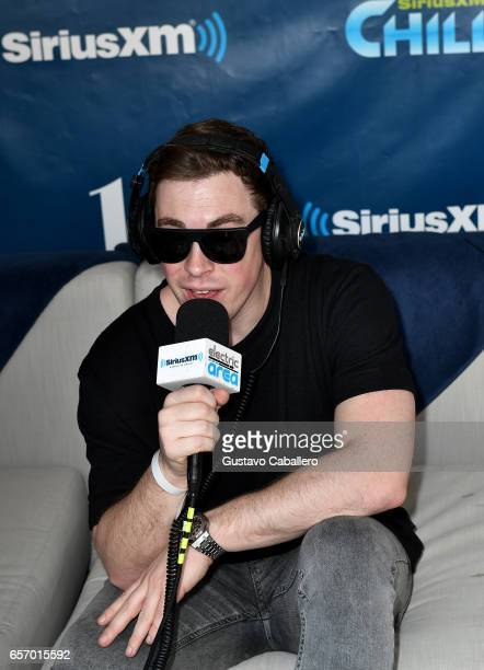 Hardwell is interviewed at the SiriusXM Music Lounge at 1 Hotel South Beach on March 23 2017 in Miami Florida