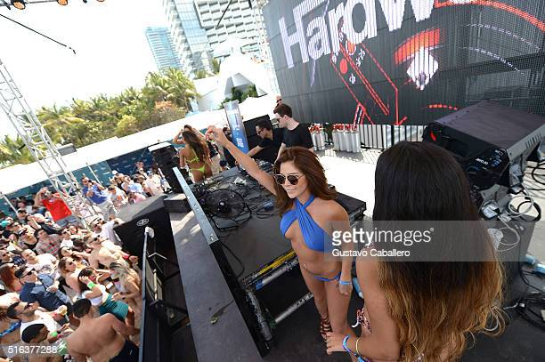 Hardwell performs at SiriusXM's 'UMF Radio' Broadcast Live From The SiriusXM Music Lounge at 1 Hotel South Beach at 1 Hotel South Beach on March 18...