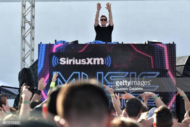 Hardwell performs at the SiriusXM Music Lounge at 1 Hotel South Beach on March 23 2017 in Miami Florida