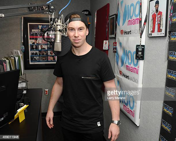 Hardwell visits Radio Station Y 100 on November 14 2014 in Miami Florida