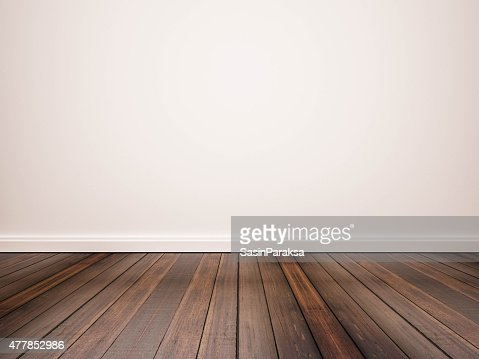 Hardwood Floor And White Wall Stock Photo Thinkstock