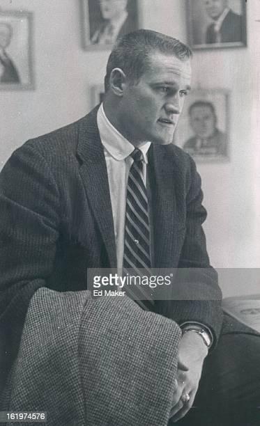 JAN 23 1956 JAN 24 1956 Hardy Carroll spts file 5p 'Major league ball some day'