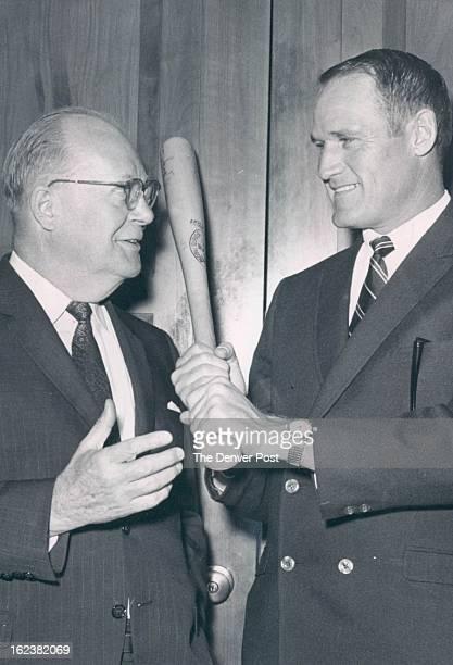 SEP 16 1967 SEP 17 1967 Hardy Carroll Spts file 5p Senator Boosts Hardy Carroll Hardy of the Minnesota Twins who played for the Denver Bears the last...
