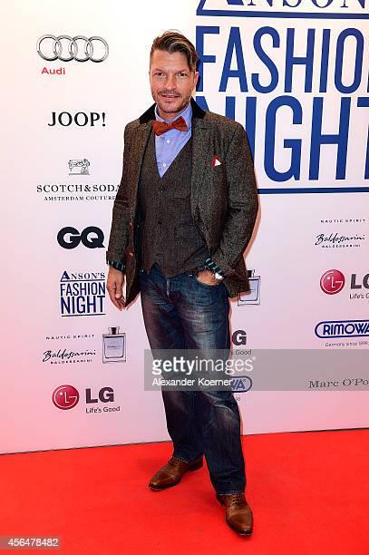 Hardy Krueger Jr attends the Anson's Fashion Night on October 1 2014 in Hamburg Germany