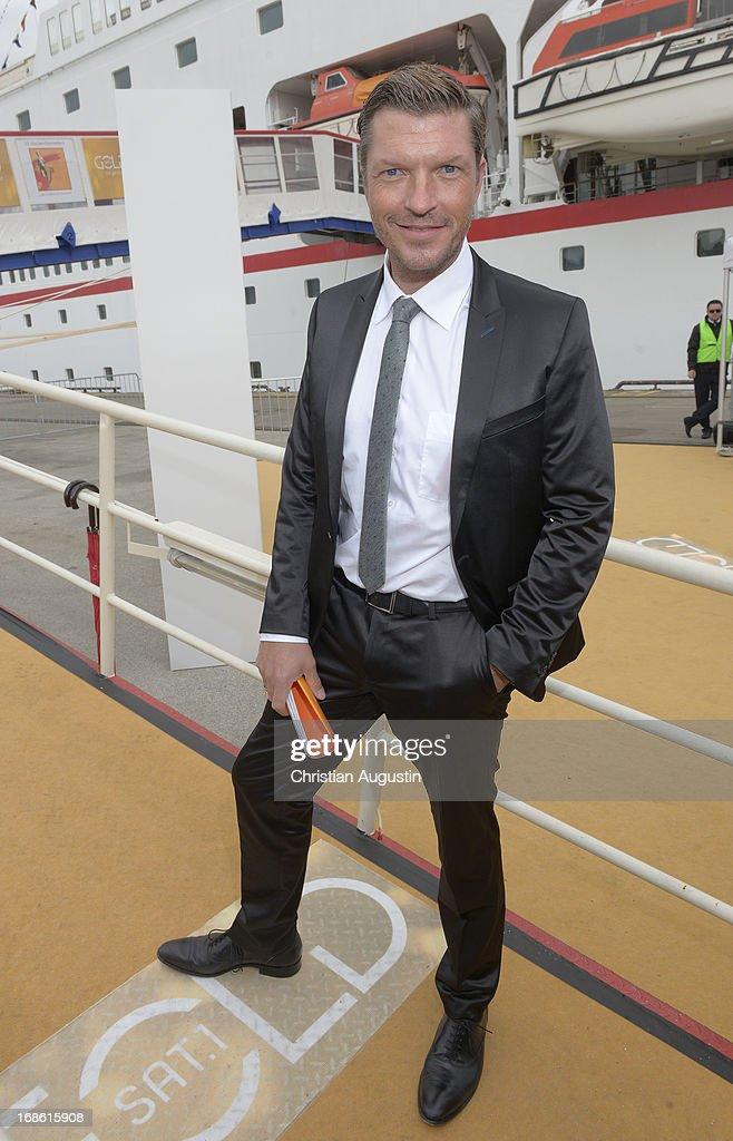 Hardy Krueger jr. attends the charity event 'Die Goldene Deutschland' at MS Deutschland on May 12, 2013 in Hamburg, Germany.