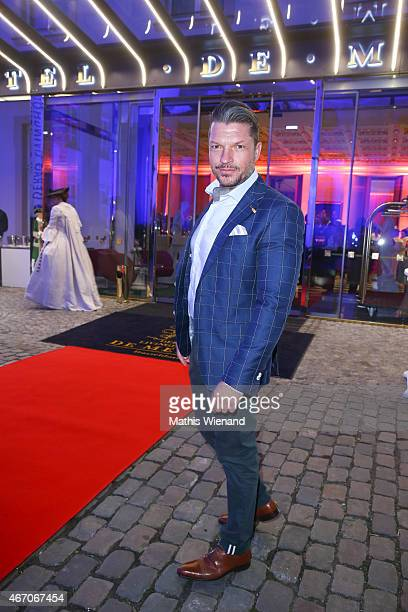 Hardy Krueger Jr attends the De Medici Hotel Grand Opening on March 20 2015 in Duesseldorf Germany