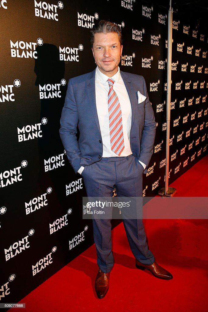 Hardy Krueger Jr attends the Montblanc House Opening on February 09, 2016 in Hamburg, Germany.