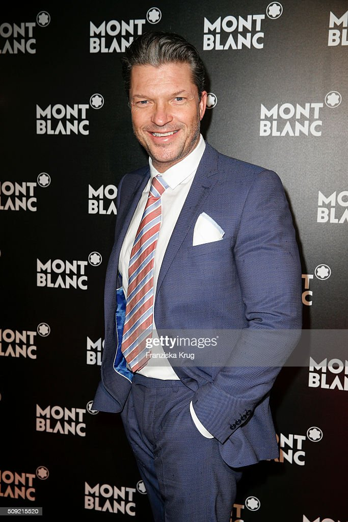 Hardy Kru?ger Jr. attends the Montblanc House Opening on February 09, 2016 in Hamburg, Germany.