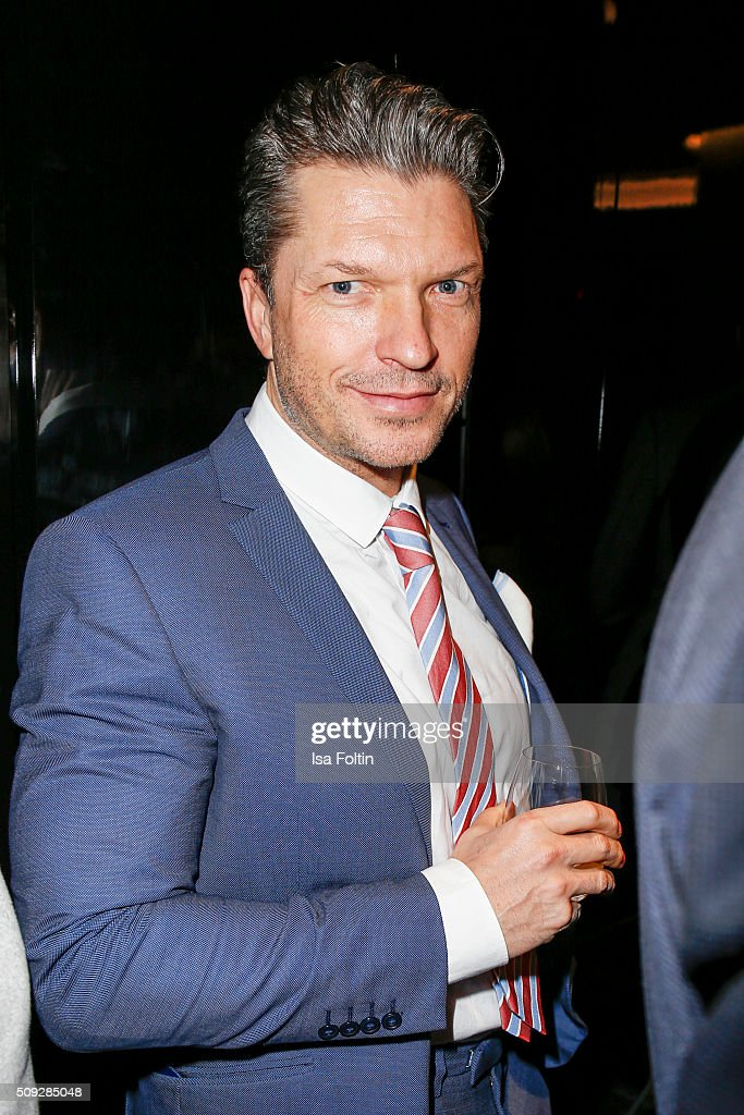 Hardy Kruger Jr. attends the Montblanc House Opening on February 09, 2016 in Hamburg, Germany.