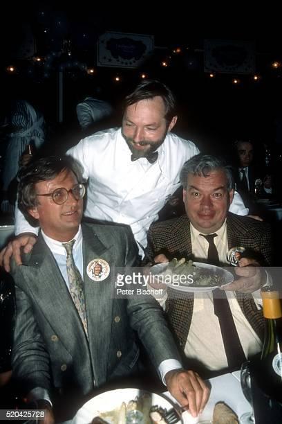 Hardy Rodenstock HansPeter Wodarz Gast Party zum 40 Geburtstag von 'Roncalli'Chef Bernhard Paul am in Wiesbaden Deutschland