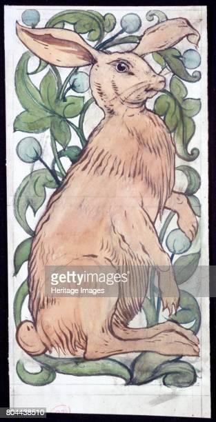 Hare' c18591917 William de Morgan was a British potter and tile designer He was a close friend of William Morris Artist William de Morgan