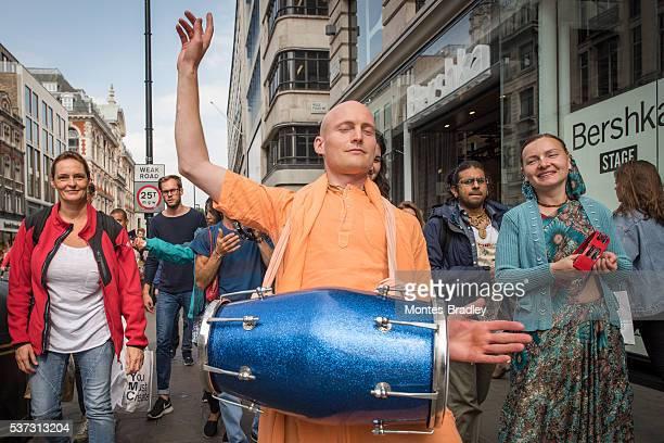 Hare-Krishna parade in London