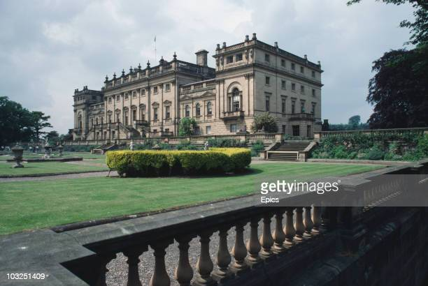 Harewood House in West Yorkshire June 1984