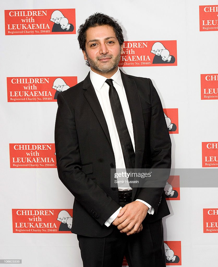 Hari Dhillon attends the Marion Rose Ball in aid of Children with Leukaemia at the Grosvenor House Hotel on Novemer 13, 2010 in London, England.