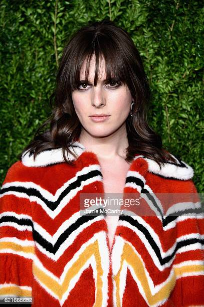 Hari Nef attends 13th Annual CFDA/Vogue Fashion Fund Awards at Spring Studios on November 7 2016 in New York City