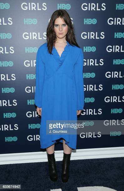 Hari Nef attends The New York Premiere Of The Sixth Final Season Of 'Girls' at Alice Tully Hall Lincoln Center on February 2 2017 in New York City