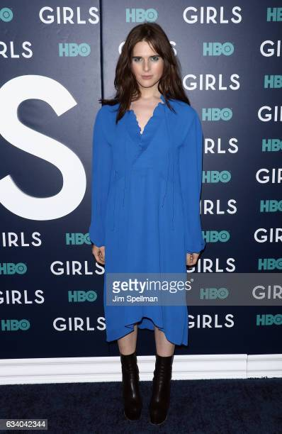 Hari Nef attends the the New York premiere of the sixth and final season of 'Girls' at Alice Tully Hall Lincoln Center on February 2 2017 in New York...