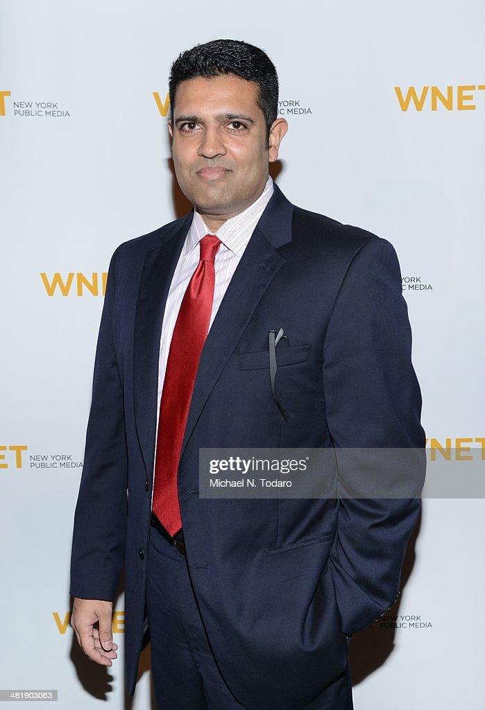 Hari Sreenivasan attends the WNET 2014 Gala at Cipriani 42nd Street on April 1, 2014 in New York City.