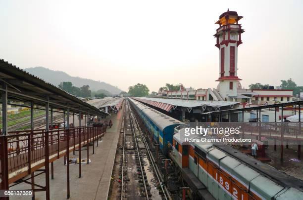 Haridwar Railway Station, Haridwar, Uttarakhand, India