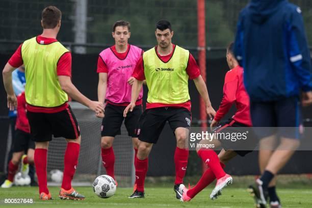 Haris Vuckic of FC Twenteduring a training session at Trainingscentrum Hengelo on June 24 2017 in Hengelo The Netherlands