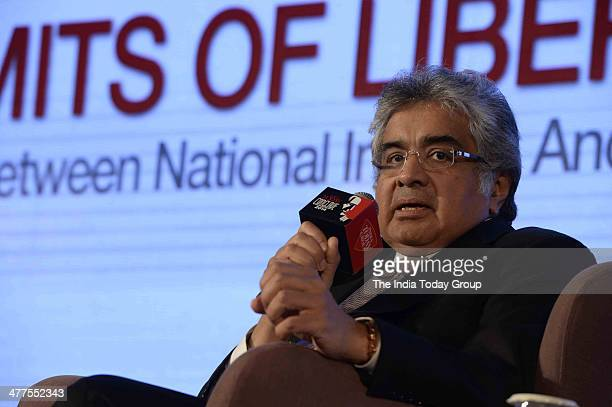 Harish Salve during the India Today Conclave 2014 in New Delhi