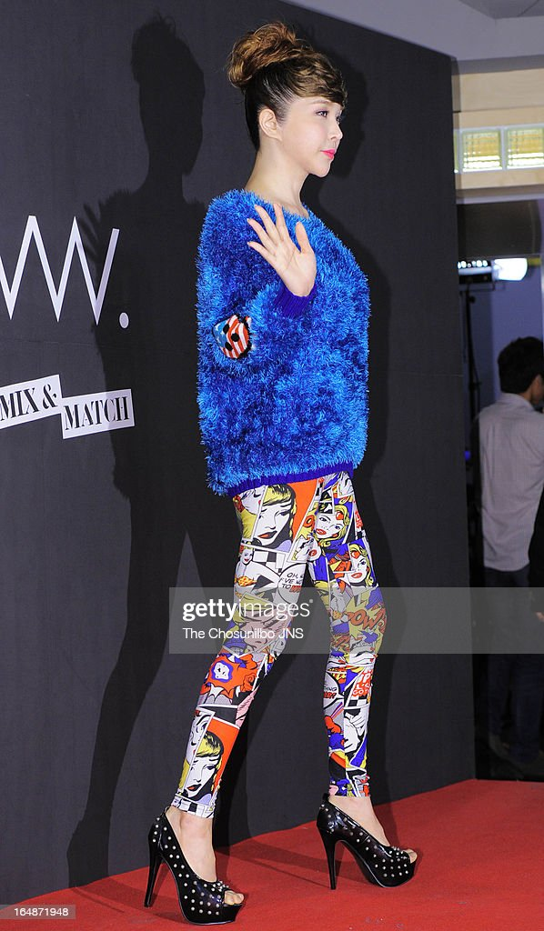 Harisu attends the 'drww.' launch & beauty talk concert at Conrad Hotel on March 28, 2013 in Seoul, South Korea.