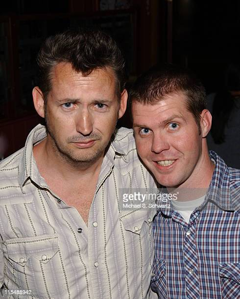 Harland Williams and Adam Hammer during Collegehumorcom Presents Comedy Juice Starring Harland Williams at The Hollywood Improv in Los Angeles...