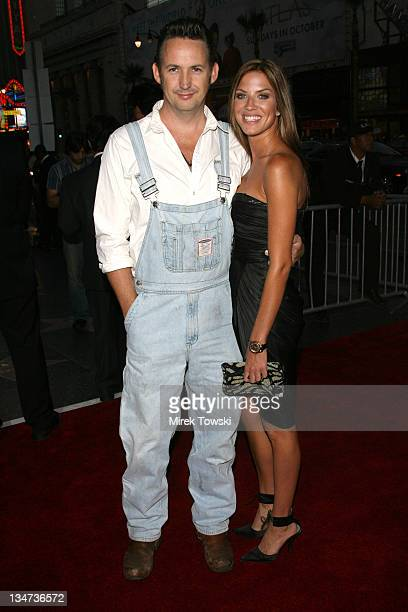 Harland Williams and Brittney Rice during 'Employee of the Month' Los Angeles Premiere Arrivals at Mann's Chinese Theater in Hollywood California...