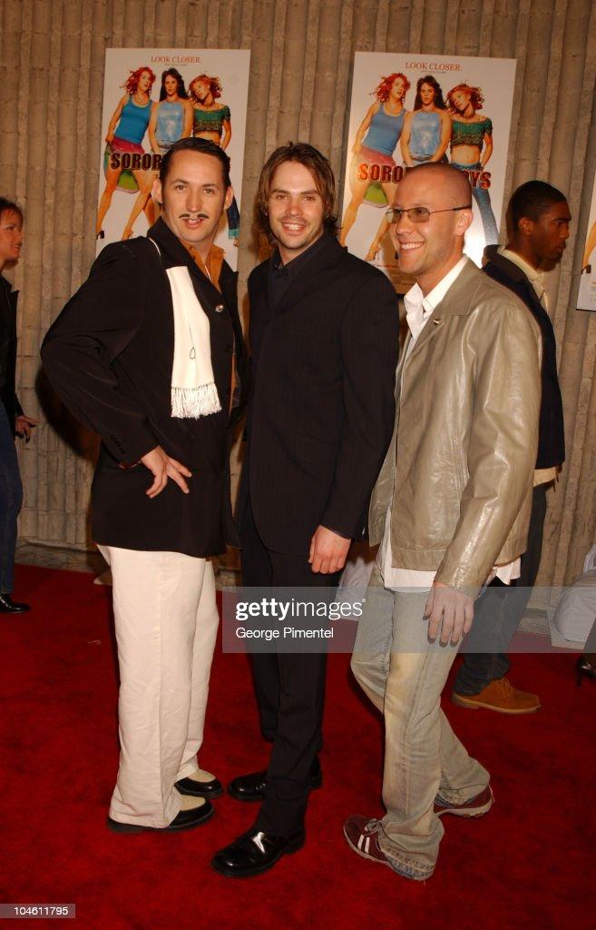 Harland Williams, Barry Watson and Michael Rosenbaum