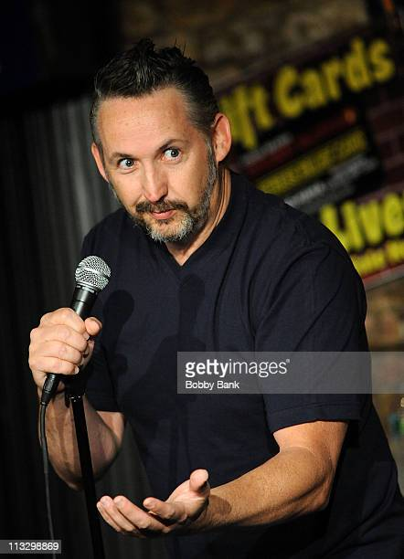 Harland Williams performs at The Stress Factory Comedy Club on April 30 2011 in New Brunswick New Jersey