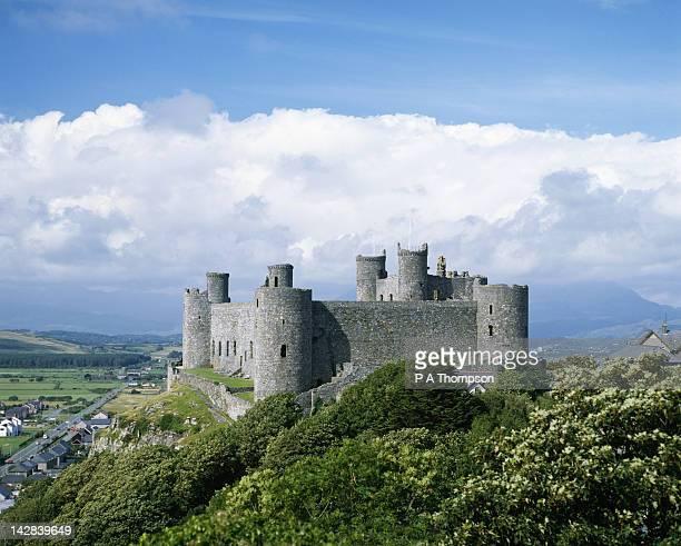 Harlech Castle, Gwynedd, Wales