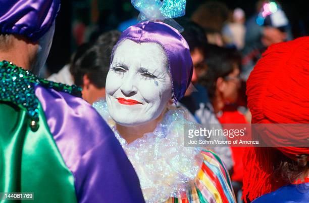 Harlequin at Mardi Gras Festival New Orleans