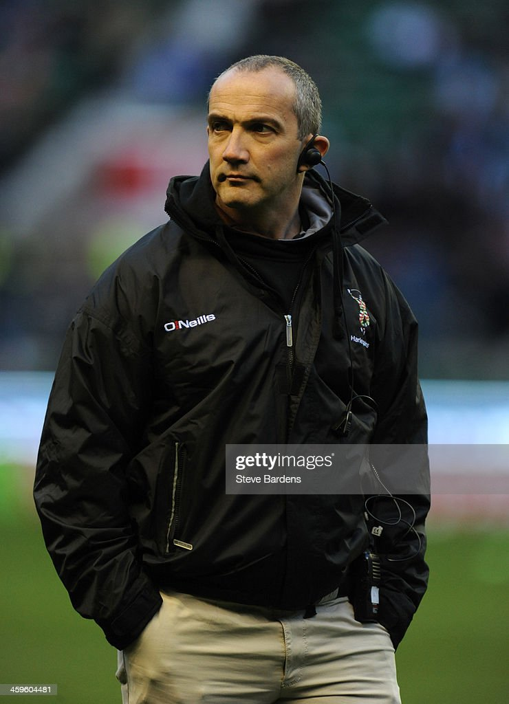 Harlequins Director of Rugby Conor O'Shea before the Aviva Premiership match between Harlequins and Exeter Chiefs at Twickenham Stadium on December 28, 2013 in London, England.