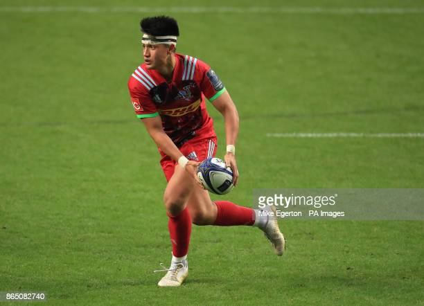 Harlequins' Marcus Smith during the Champions Cup pool one match at the Ricoh Arena Coventry