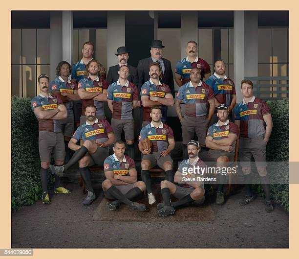 Harlequins players Tim Visser Marland Yarde Joe Gray Luke Wallace Jamie Roberts Joe Marchant Mike Brown Head Coach Mark Mapletoft Director of Rugby...