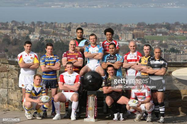 Harlequins Will Sharp Salford City Reds Paul White Catalans Dragons Sebastien Raguin Leeds Rhino's Danny Buderus Huddesfield Giant's Andy Raleigh...