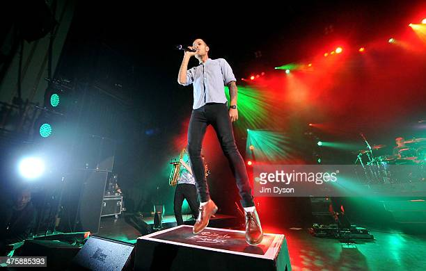 Harley AlexanderSule of Rizzle Kicks performs live on stage at the Hammersmith Apollo on March 1 2014 in London United Kingdom