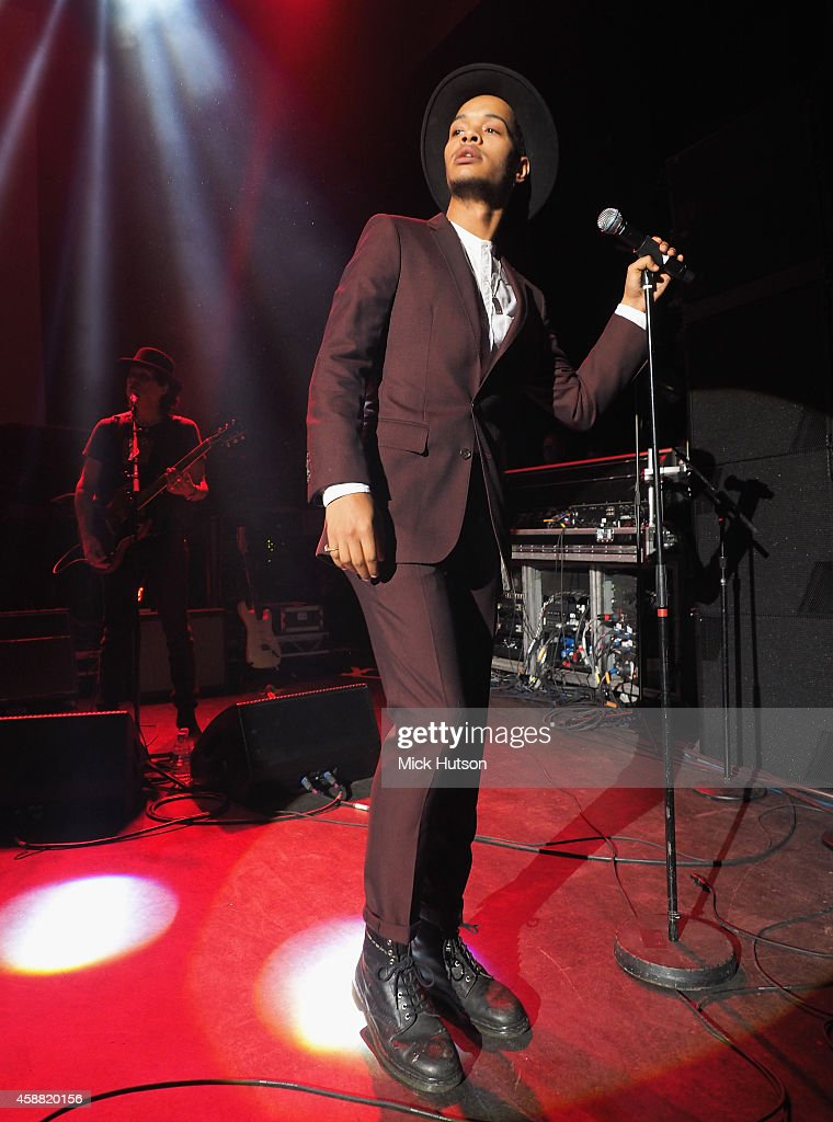 Harley Alexander-Sule of Rizzle Kicks performs on stage as part of an evening of The Who music in aid of Teenage Cancer Trust, at O2 Shepherd's Bush Empire on November 11, 2014 in London, England.