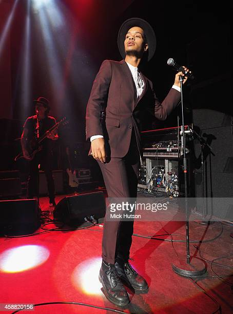 Harley AlexanderSule of Rizzle Kicks performs on stage as part of an evening of The Who music in aid of Teenage Cancer Trust at O2 Shepherd's Bush...