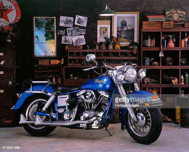 Harley Davidson FLH Artist Unknown
