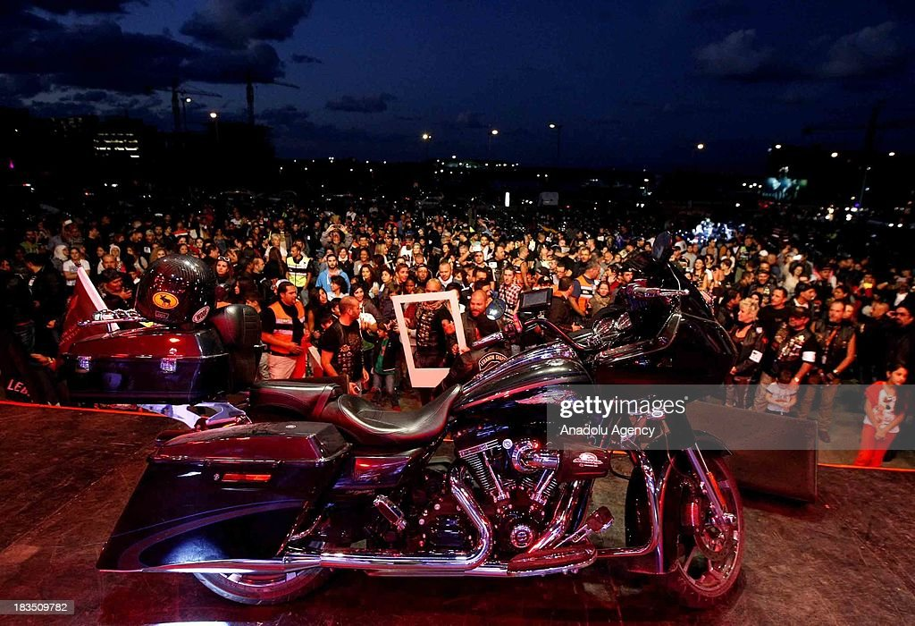 Harley Davidson riders from different nationalities participate in the 'Tour of Lebanon''. The fifth time tour is ended on October 6, 2013 in Beirut, the capital of Lebanon.