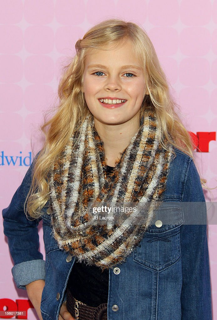 Harley Graham attends the premiere of Disney Channels' 'Sofia The First: Once Upon a Princess' at Walt Disney Studios on November 10, 2012 in Burbank, California.
