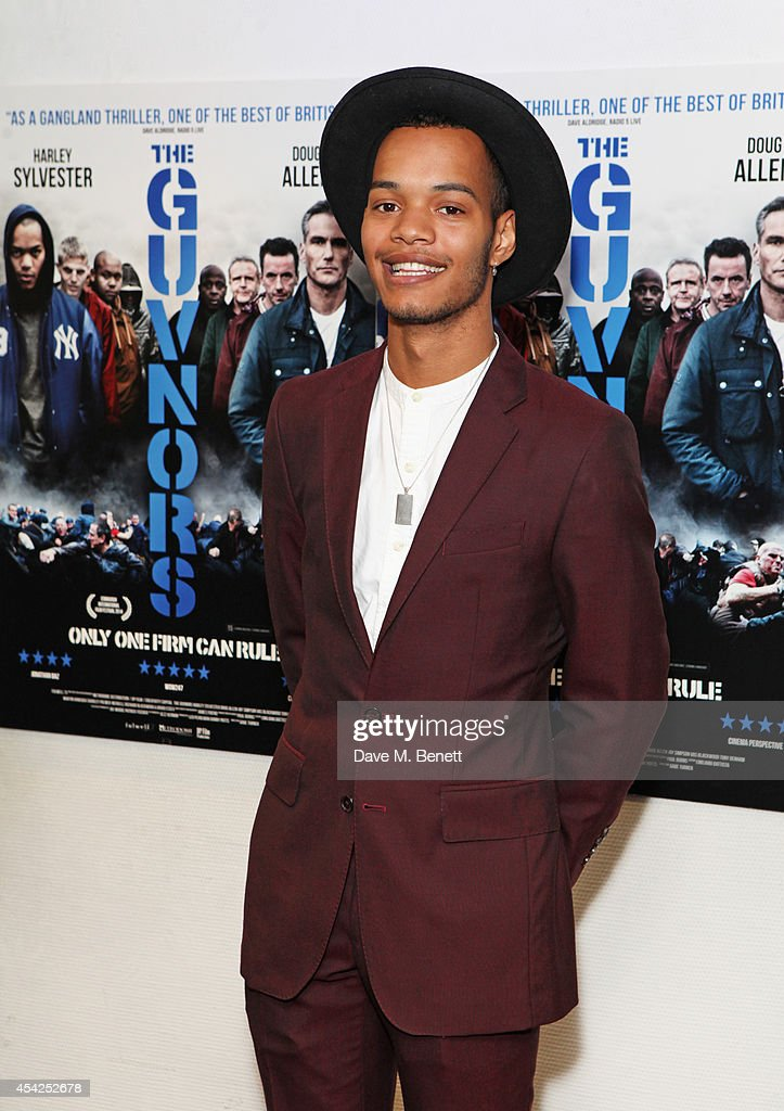 Harley 'Sylvester' Alexander-Sule attends the UK Premiere of 'The Guvnors' at Odeon Covent Garden on August 27, 2014 in London, England.