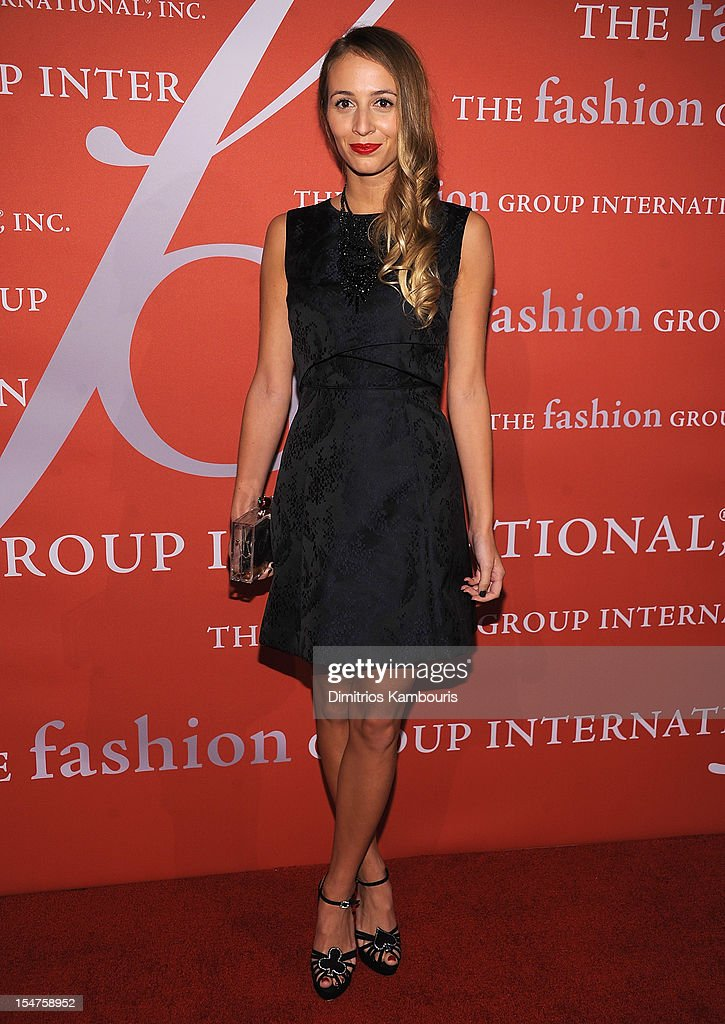 Harley Vera Newton attends the 29th Annual Fashion Group International Night Of Stars at Cipriani Wall Street on October 25, 2012 in New York City.