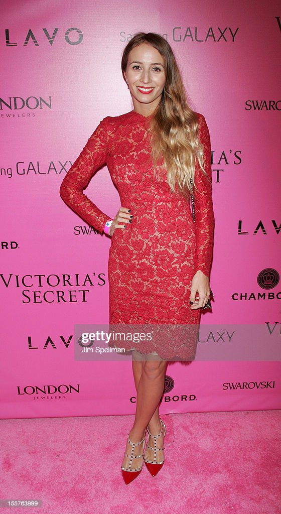 DJ Harley Viera Newton attends the after party for the 2012 Victoria's Secret Fashion Show at Lavo NYC on November 7, 2012 in New York City.